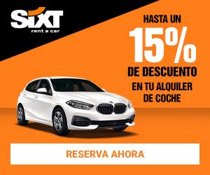 Promociones exclusivas Sixt aeropuerto Valencia