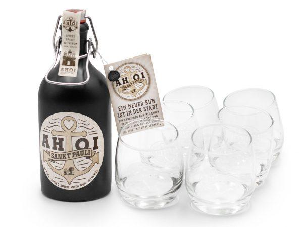 AHOI Rum Glas Tumbler Ð 6x