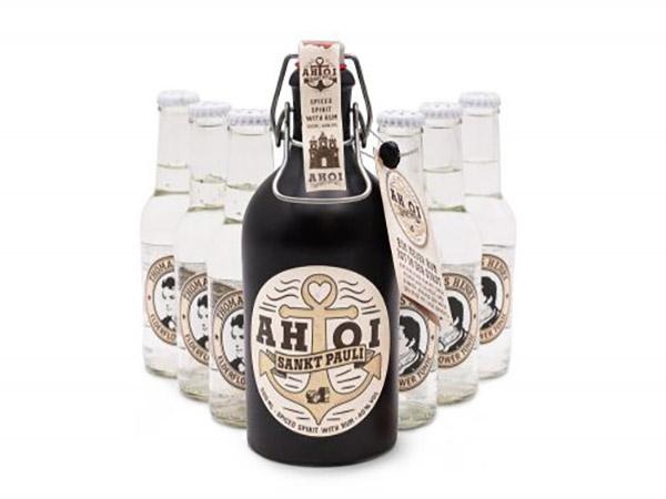 AHOI Rum 500ml + Thomas Henry Elderflower 6x200ml